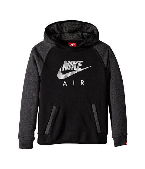 Nike Kids - YA FT Flash Oth Hdy-Air (Little Kids/Big Kids) (Black/Black Heather/Black) Boy