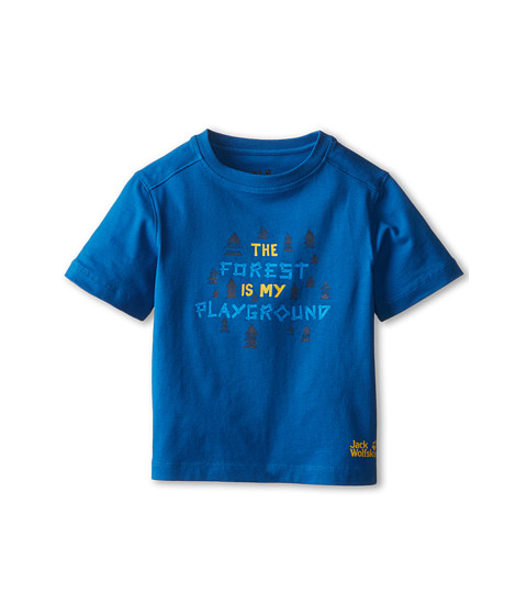 Jack Wolfskin Kids - Playground Tee (Infant/Toddler/Little Kid/Big Kid) (Classic Blue) Kid