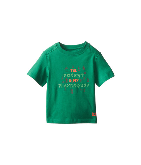 Jack Wolfskin Kids - Playground Tee (Infant/Toddler/Little Kid/Big Kid) (Cucumber Green) Kid