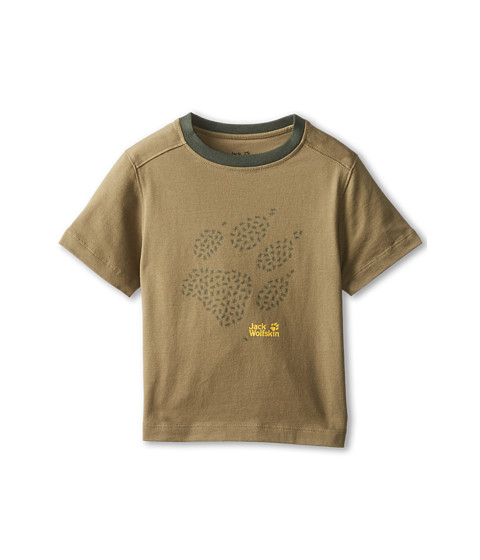 Jack Wolfskin Kids - Anthill OC Tee Playground Tee (Infant/Toddler/Little Kid/Big Kid) (Burnt Olive) Kid