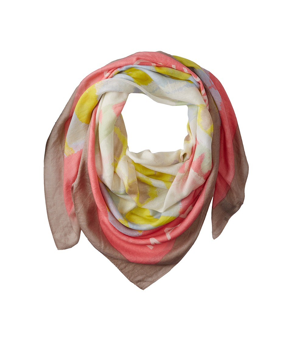 Marc by Marc Jacobs - Washed Ink Scarf (Piggy Pink Multi) Scarves
