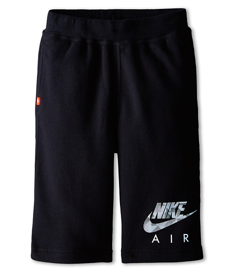 Nike Kids - YA Flash BF Shorts Air (Little Kids/Big Kids) (Black/Black/Black) Boy's Shorts