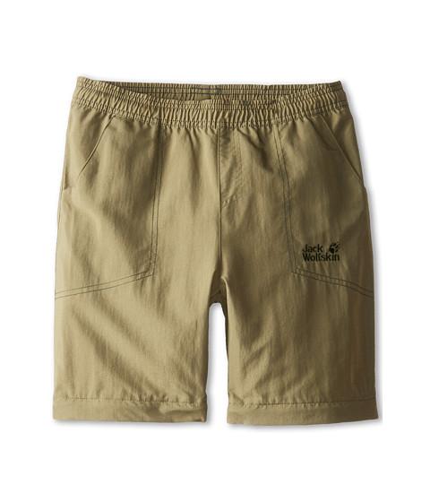 Jack Wolfskin Kids - Desert Zip Off Pants (Big Kid) (Burnt Olive) Kid