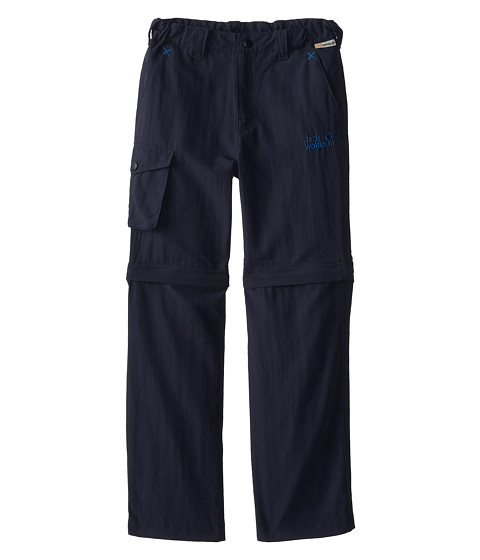 Jack Wolfskin Kids - Mosquito Zip Off Pants (Big Kid) (Night Blue) Kid's Casual Pants