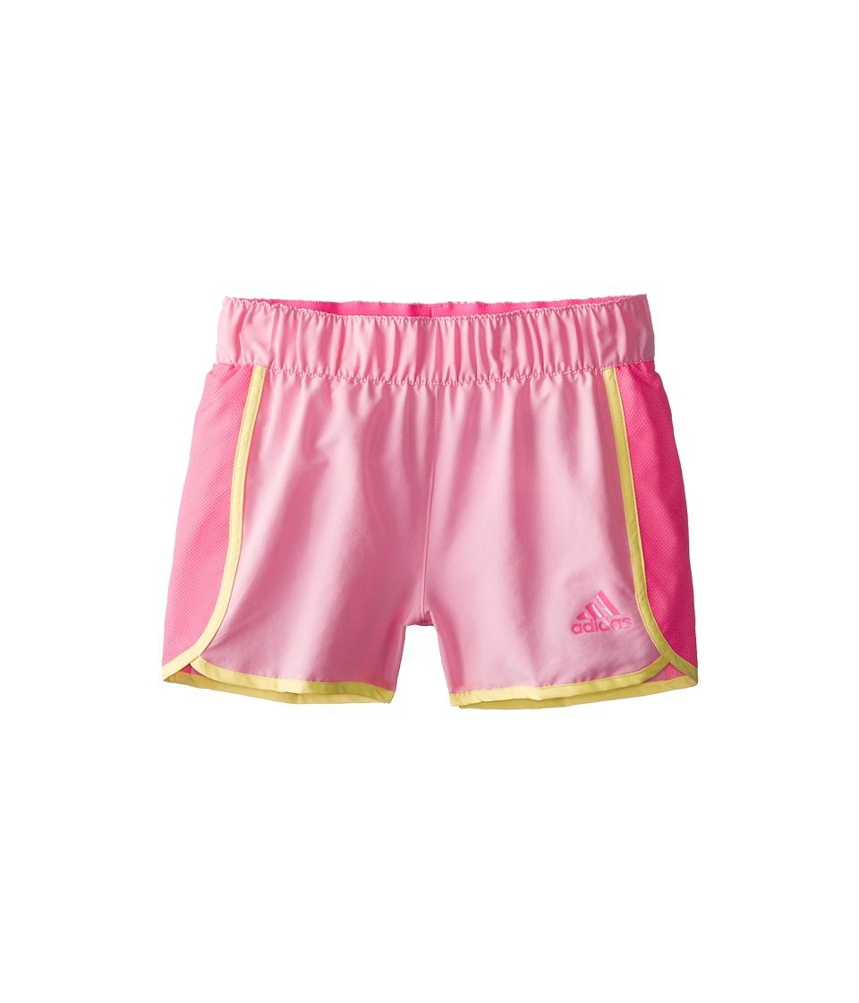 adidas Kids - Player Short (Big Kids) (Light Pink/Solar Pink) Girl's Shorts