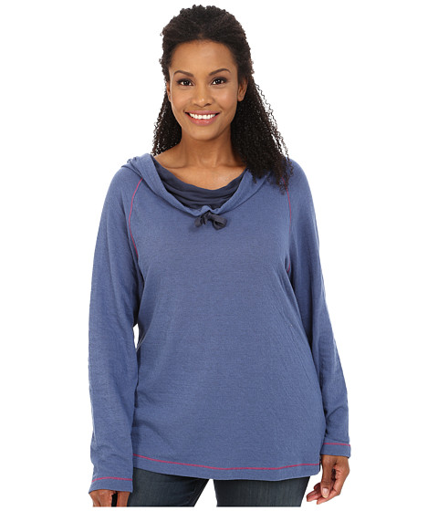 Columbia - Plus Size Sweetheart Grove Hoodie (Bluebell) Women