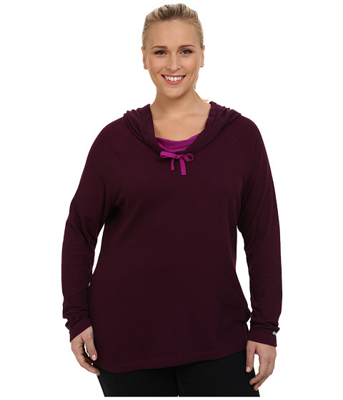 Columbia - Plus Size Sweetheart Grove Hoodie (Purple Dahlia) Women's Sweatshirt