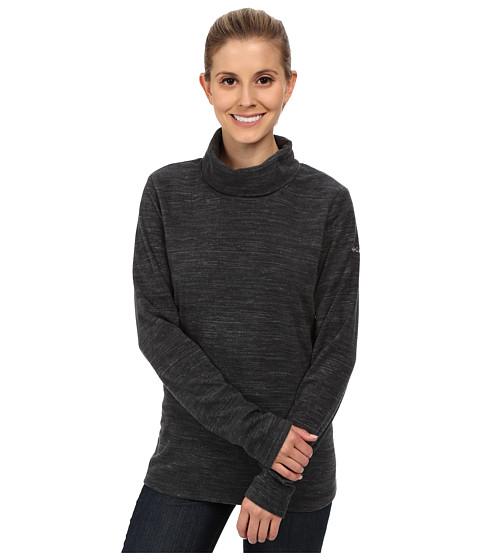 Columbia - Glacial Fleece Turtleneck (Black Spacedye) Women's Long Sleeve Pullover