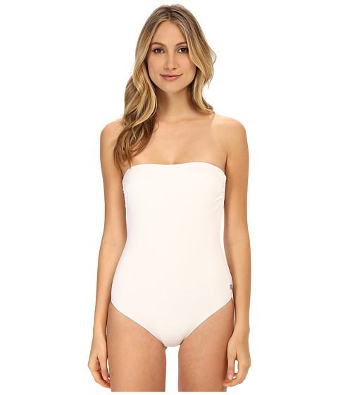 Emporio Armani - Mix and Match One-Piece Bathing Suit (White) Women