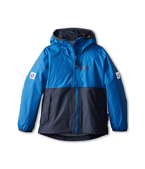 Jack Wolfskin Kids - Rainy Days Texapore Jacket (Toddler/Little Kid/Big Kid) (Classic Blue) Boy
