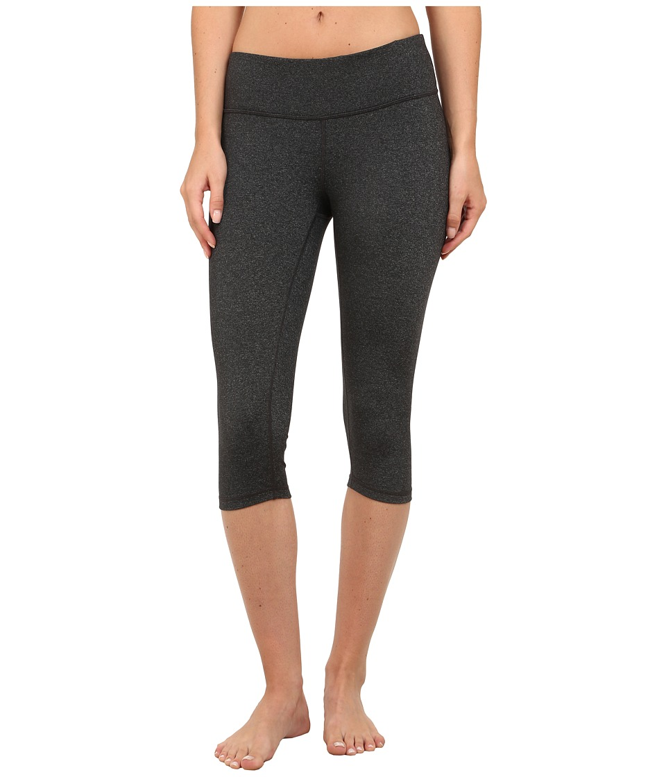 Prana - Misty Knicker (Charcoal Heather) Women's Capri