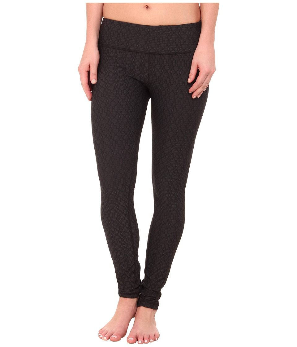 Prana - Misty Legging (Black Jacquard) Women's Workout