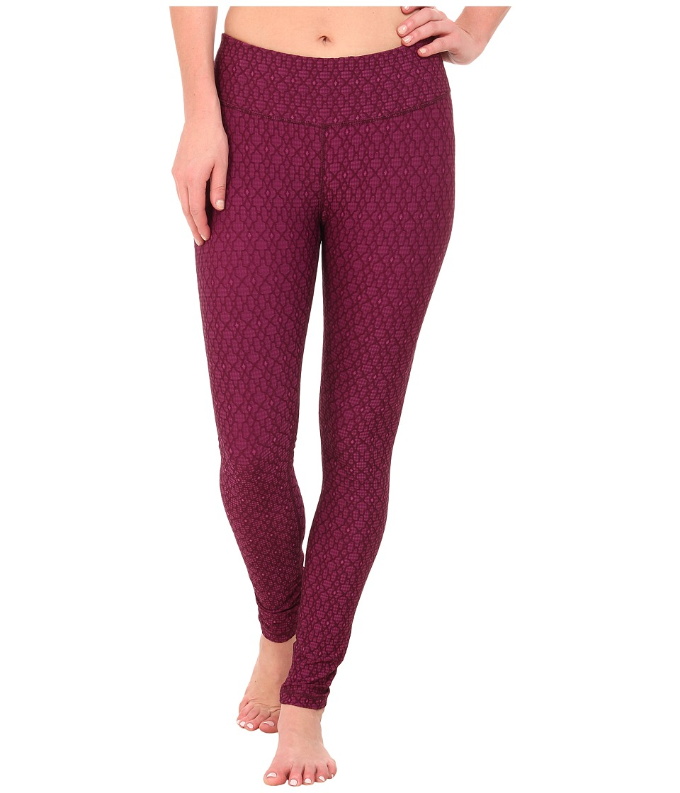 Prana - Misty Legging (Viola Jacquard) Women's Workout plus size,  plus size fashion plus size appare