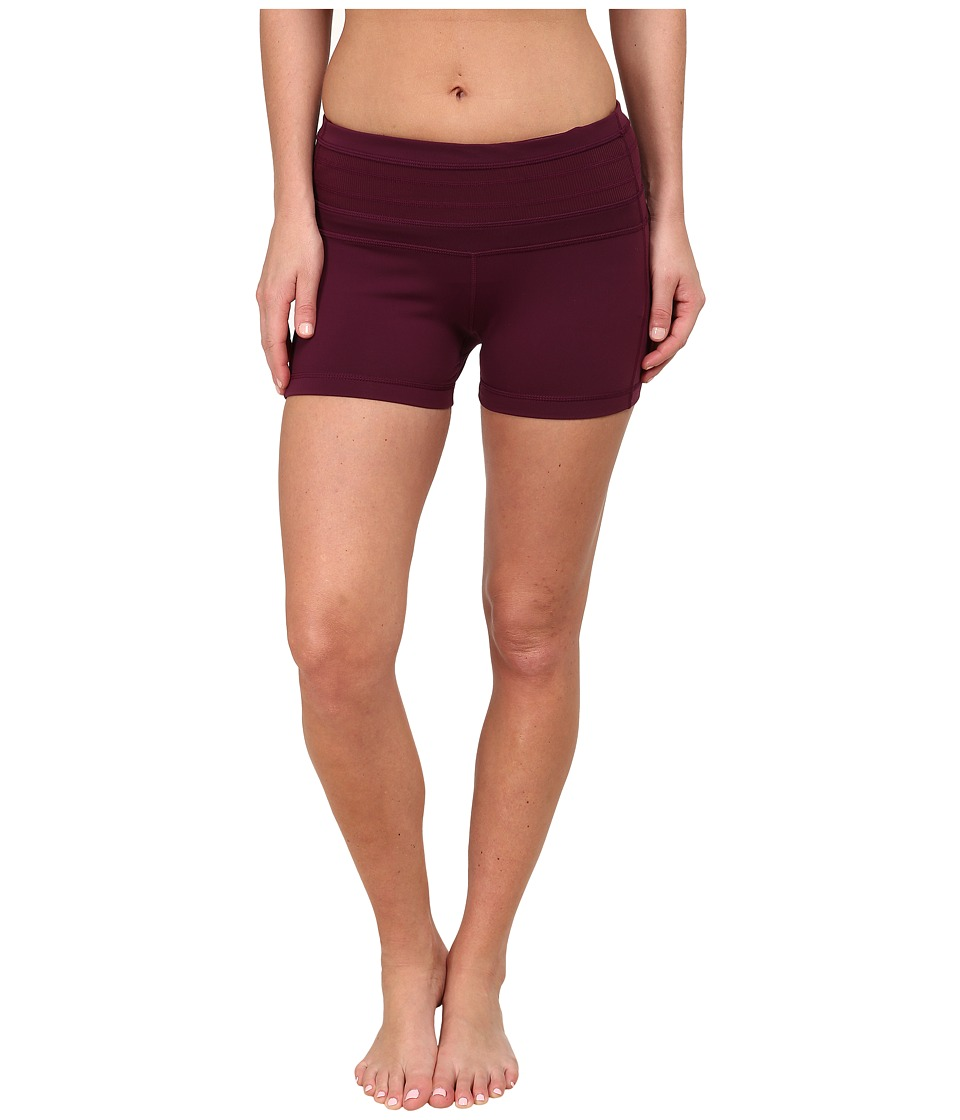 Prana - Olympia Short (Black Plum) Women's Shorts