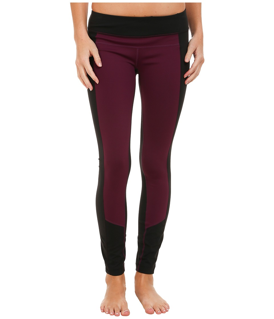 Prana - Gabi Legging (Black Plum) Women's Casual Pants