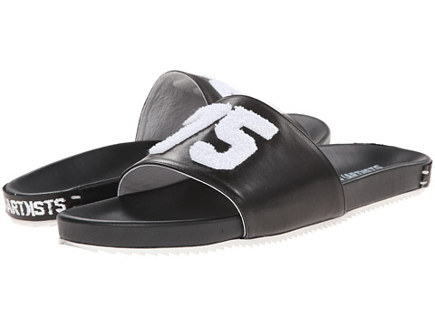 SWEAR - Les(Art)ists 2 (Black Smooth Leather) Slippers