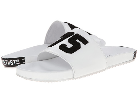SWEAR - Les(Art)ists 2 (White Smooth Leather) Slippers