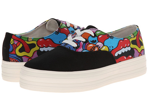 SWEAR - Yosh X Swear 1 (Black Canvas Print 1) Shoes