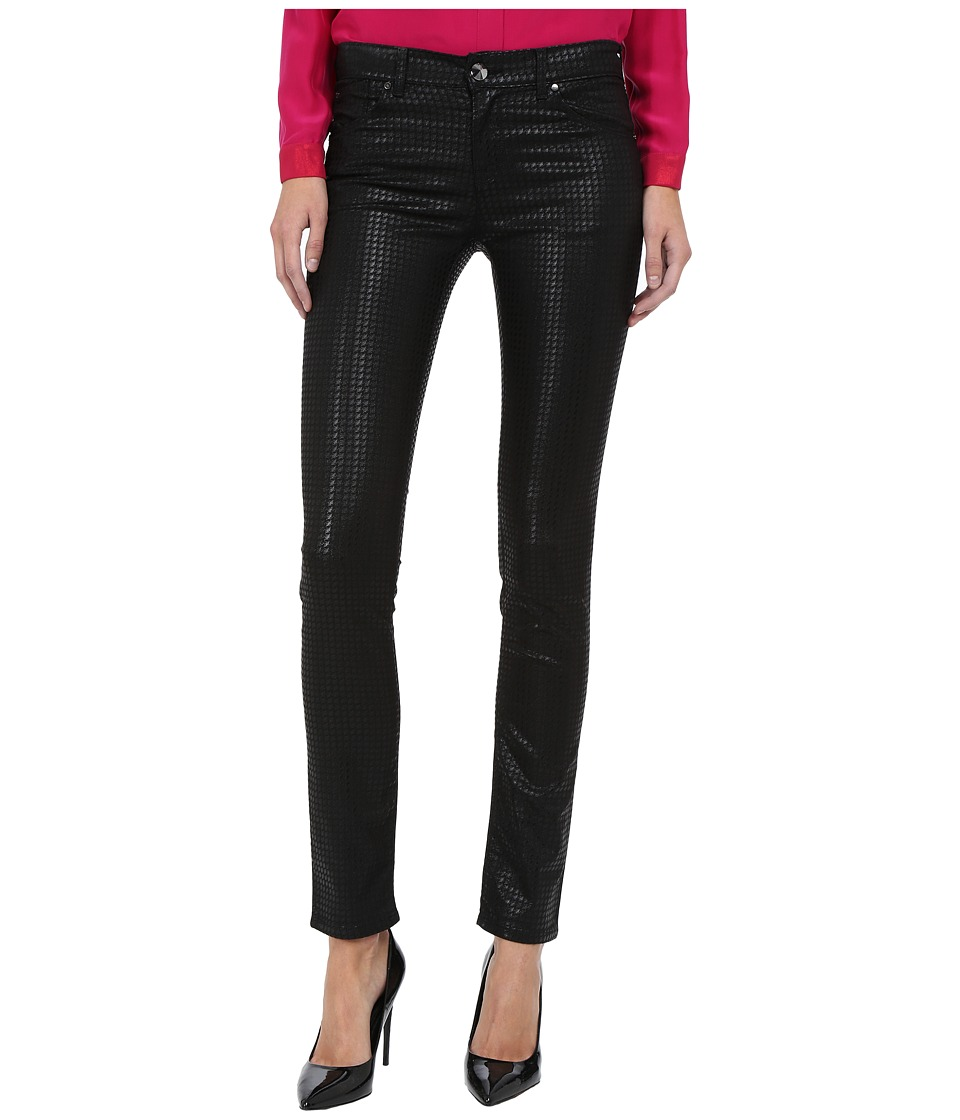 Armani Jeans - Diamond Print Evening Pants (Black) Women's Casual Pants