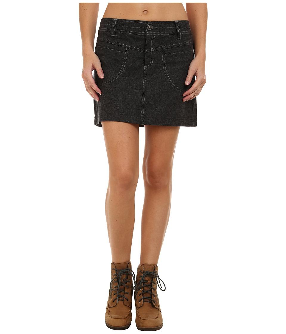 KUHL - Treeline Fuze Skirt (Smoke) Women's Skirt