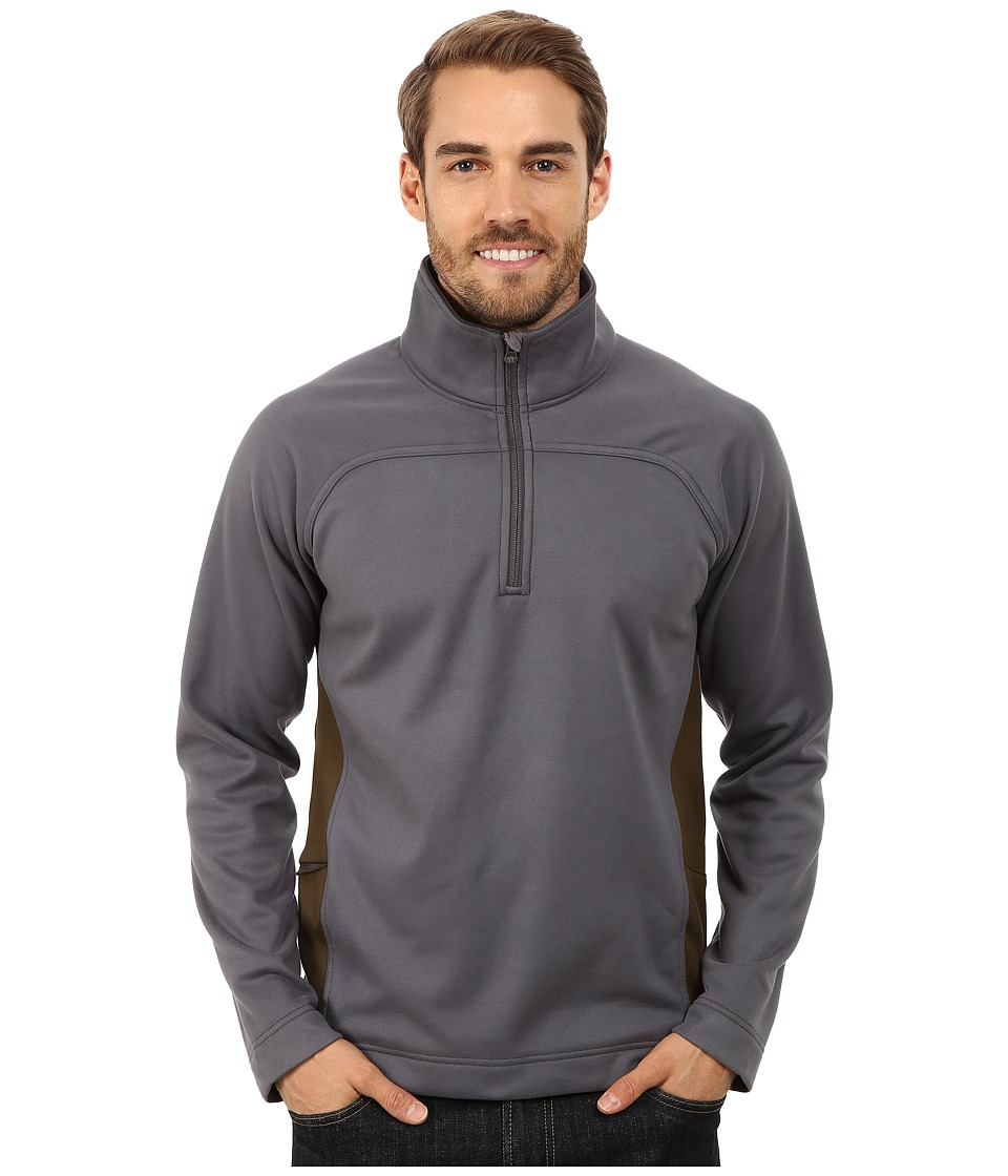 Royal Robbins - Cannon 1/2 Zip (Obsidian) Men's Long Sleeve Pullover