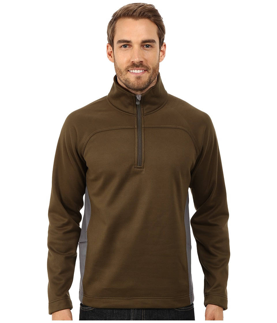 Royal Robbins - Cannon 1/2 Zip (Timber) Men's Long Sleeve Pullover