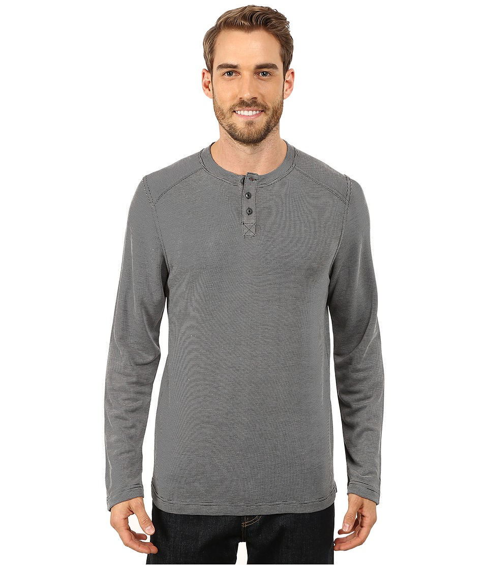 Royal Robbins Mojave Henley (Charcoal) Men