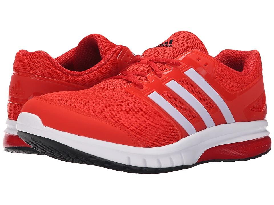 adidas - Galaxy Elite (Hi-Ris Red/White/Scarlet) Men