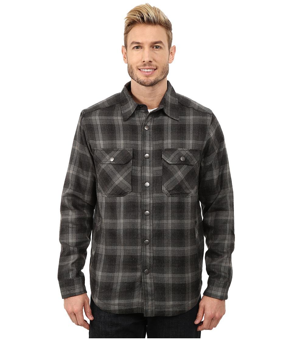 Royal Robbins - Plaid Shop Jacket (Obsidian) Men's Jacket