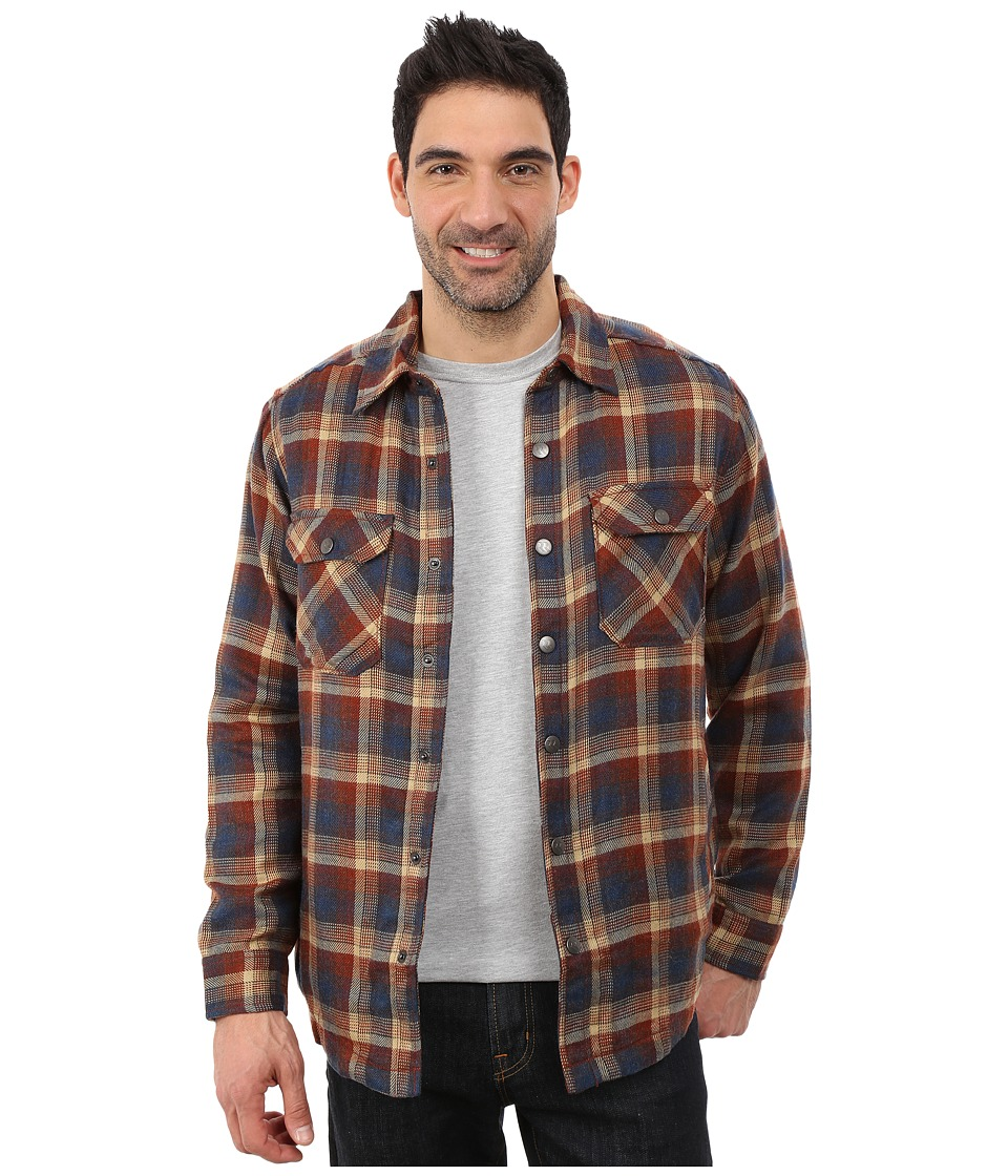 Royal Robbins - Plaid Shop Jacket (Deep Blue) Men's Jacket