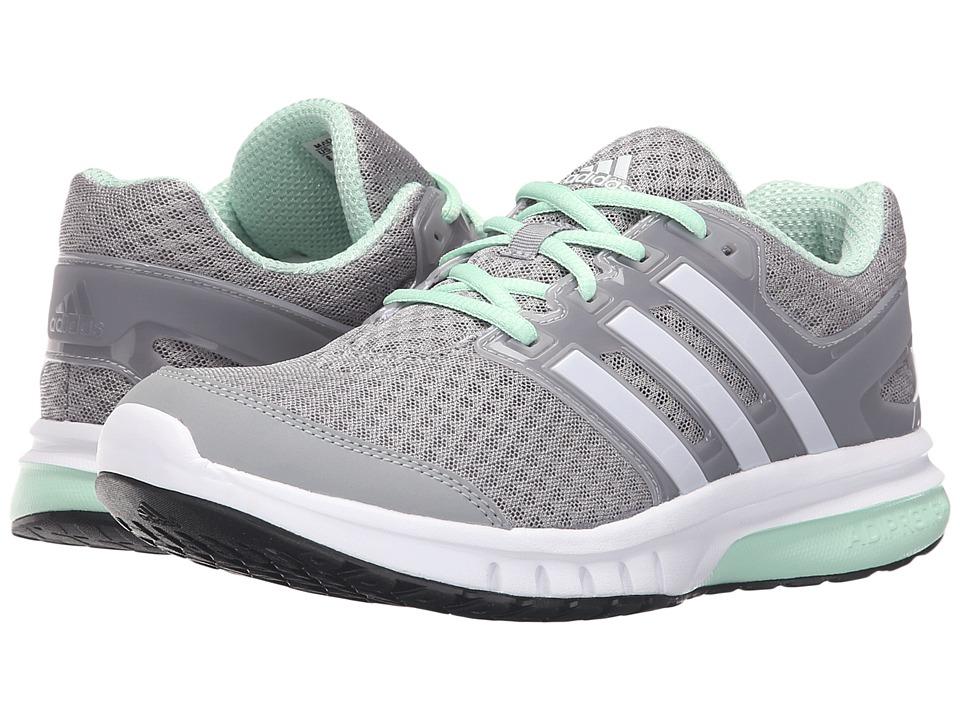 adidas - Galaxy Elite (Mid Grey/White/Frozen Green) Women's Running Shoes