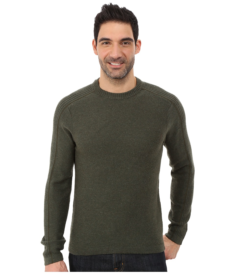 Royal Robbins - Fireside Wool Crew Pullover (Mangrove Green) Men's Long Sleeve Pullover