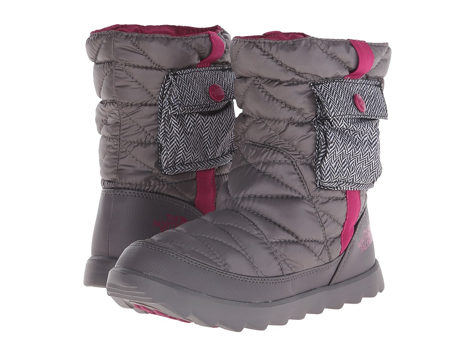 The North Face - ThermoBall Bootie (Shiny Plum Kiteen Grey/Radiance Purple) Women's Shoes