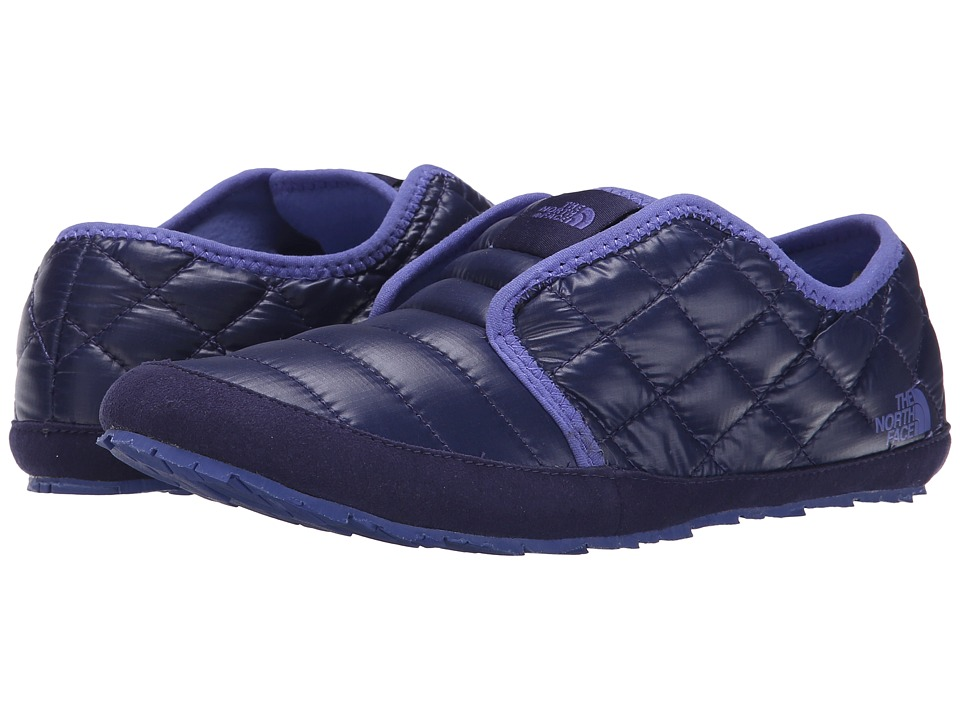 The North Face - ThermoBall Traction Mule II (Shiny Astral Aura Blue/Blue Iris) Women