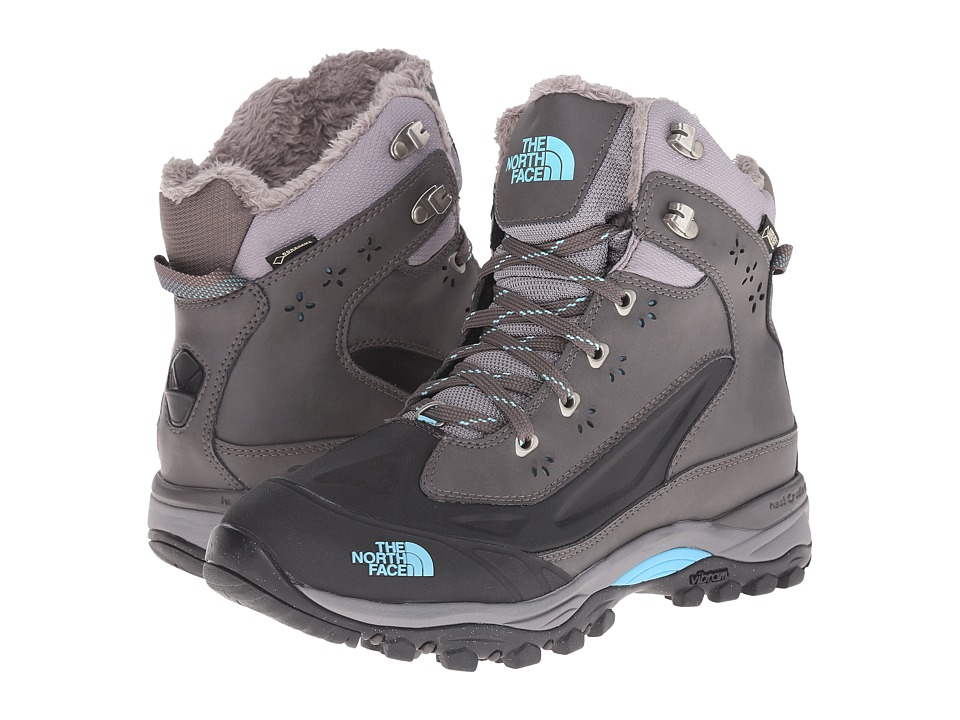 The North Face - Chillkat Tech (Dark Gull Grey/Fortuna Blue) Women's Hiking Boots