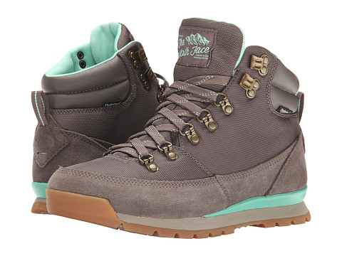 The North Face - Back-To-Berkeley Redux (Morel Brown/Surf Green) Women's Hiking Boots