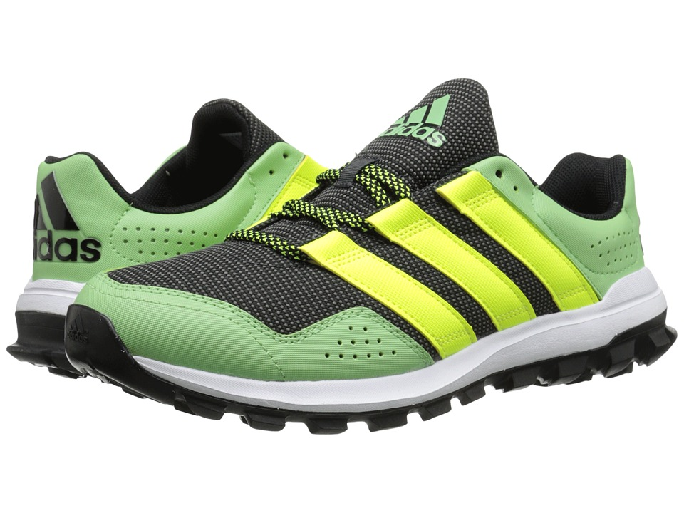 adidas Running - Slingshot Trail (Solar Blue/Solar Yellow/Super Green) Men's Shoes