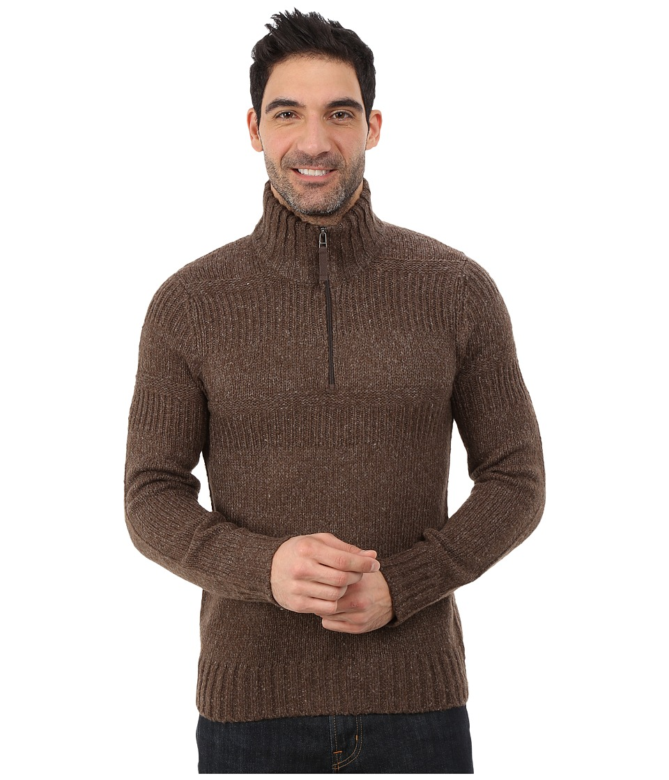 Royal Robbins - Scotia 1/4 Zip (Timber) Men's Long Sleeve Pullover