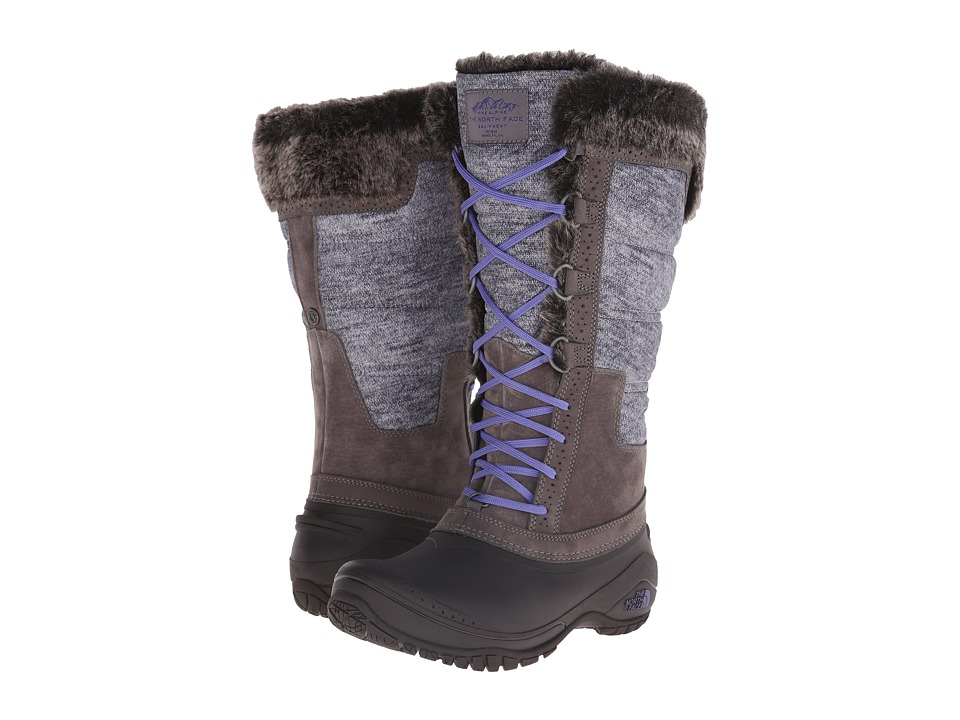The North Face - Shellista II Tall (Plum Kitten Grey/Deep Wisteria Purple) Women's Cold Weather Boots