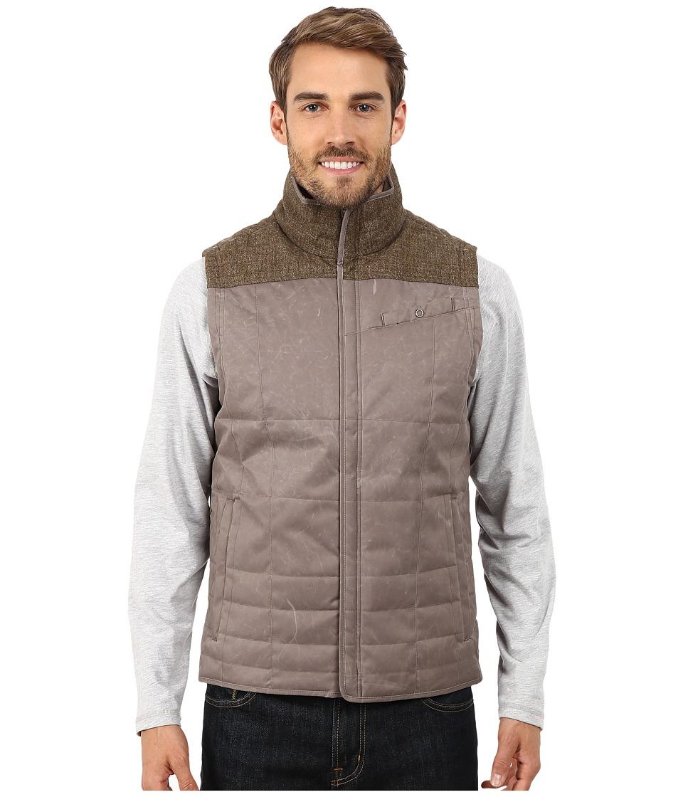 Royal Robbins - Field Zip Vest (Taupe) Men's Vest