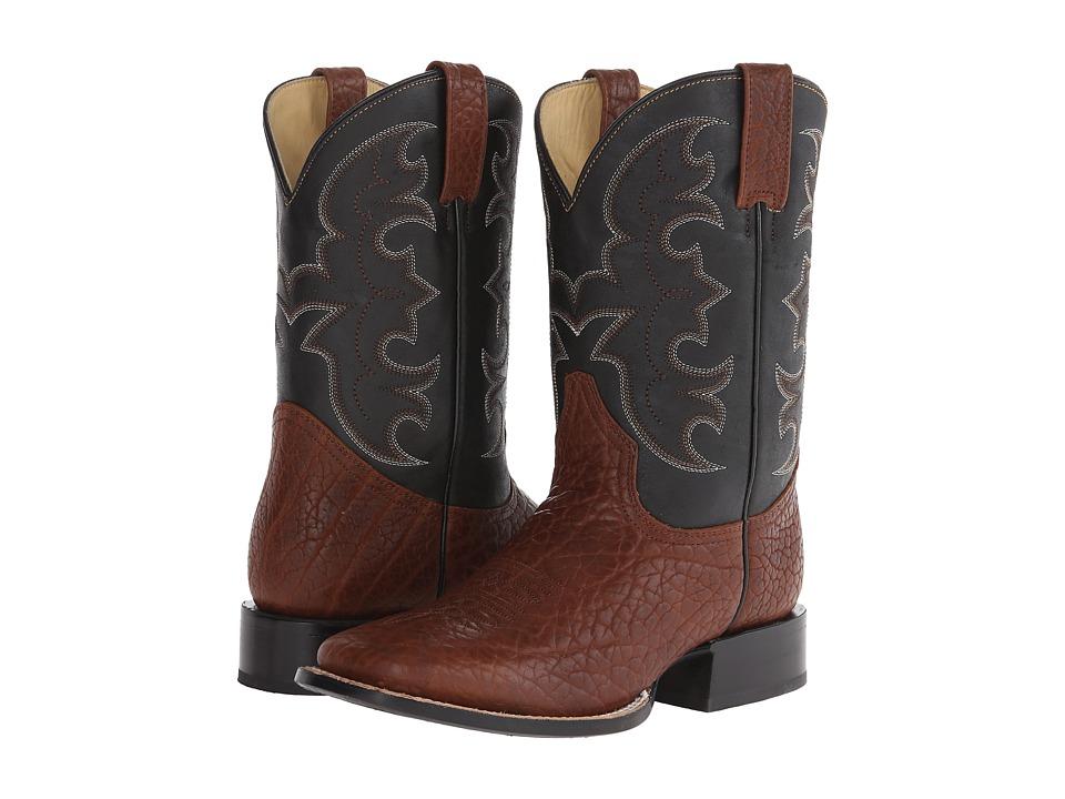 Stetson Ben (Brown) Cowboy Boots