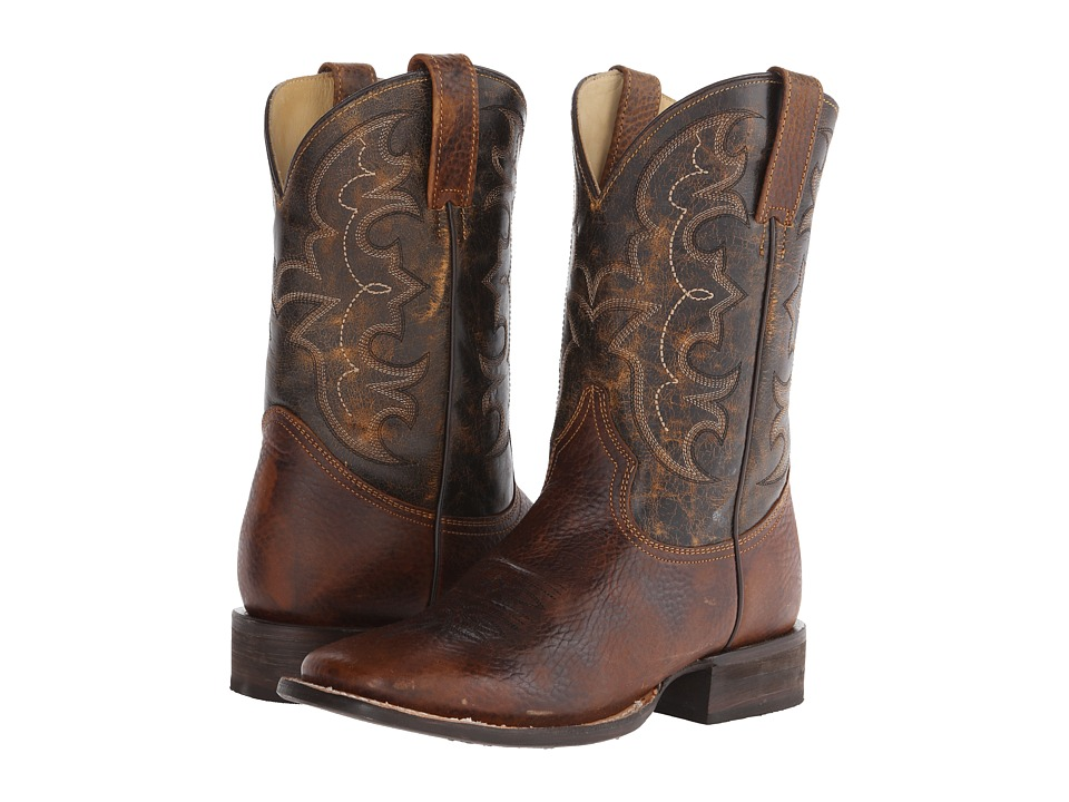 Stetson - Bart (Light Brown) Cowboy Boots
