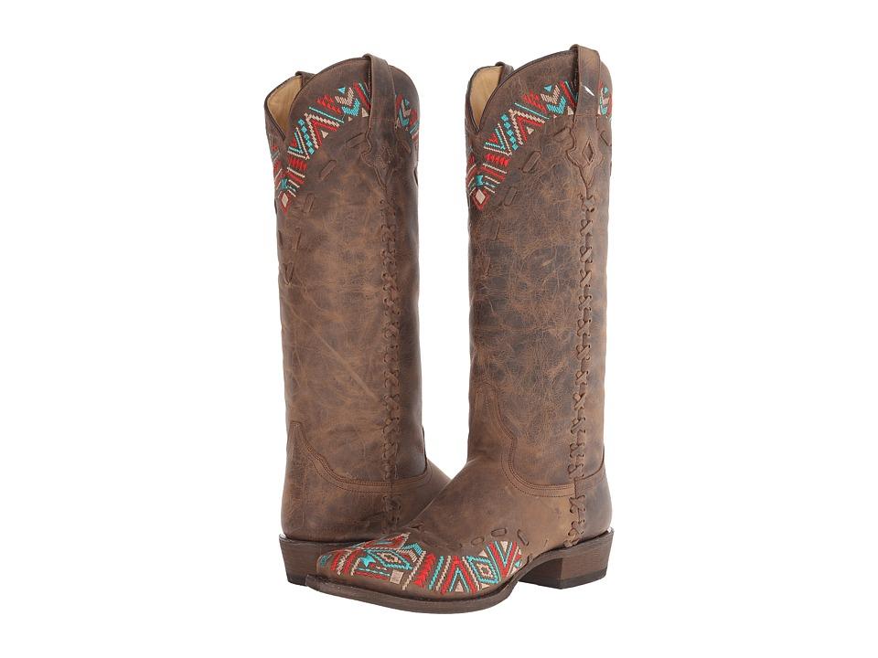 Stetson - Doli (Brown) Cowboy Boots