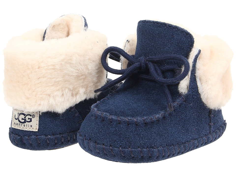 UGG Kids - Sparrow (Infant/Toddler) (New Navy) Girls Shoes