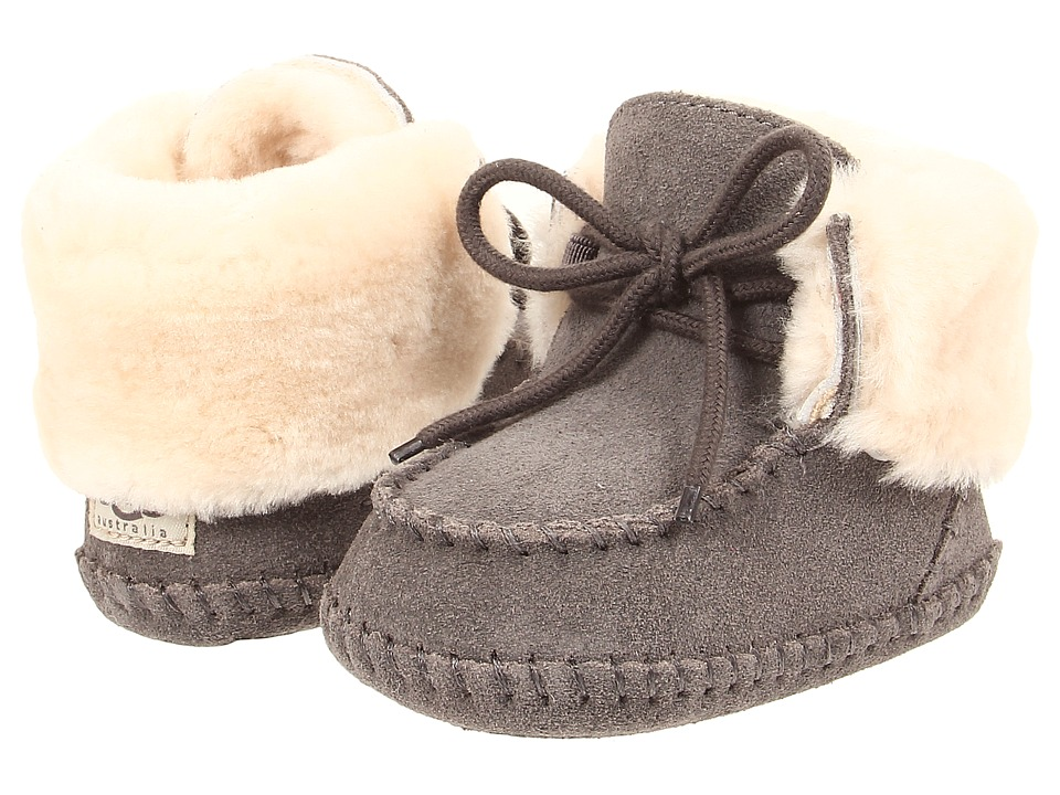 UGG Kids - Sparrow (Infant/Toddler) (Grey) Girls Shoes
