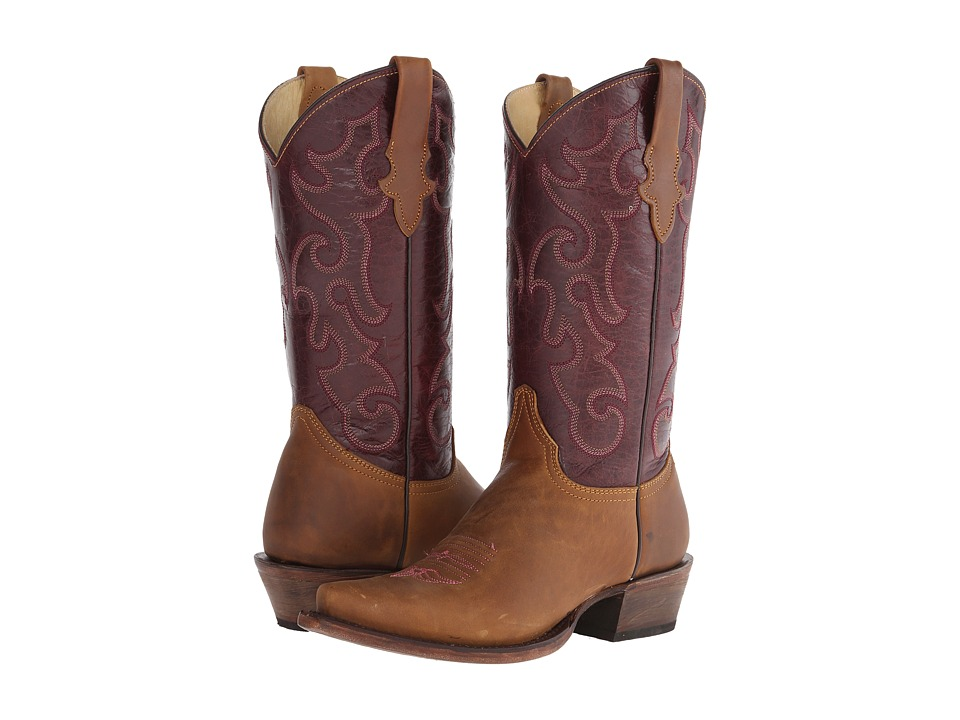 Stetson - Violet S (Light Beige) Cowboy Boots