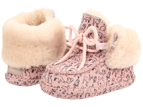UGG Kids - Sparrow Woodland (Infant/Toddler) (Baby Pink) Girls Shoes