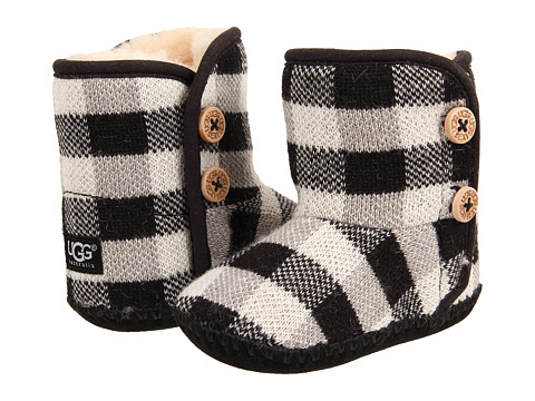UGG Kids - Purl Pine (Infant/Toddler) (Black) Girls Shoes