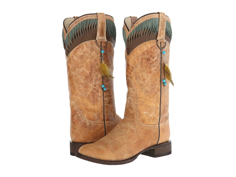 Stetson - Kai (Brown) Cowboy Boots