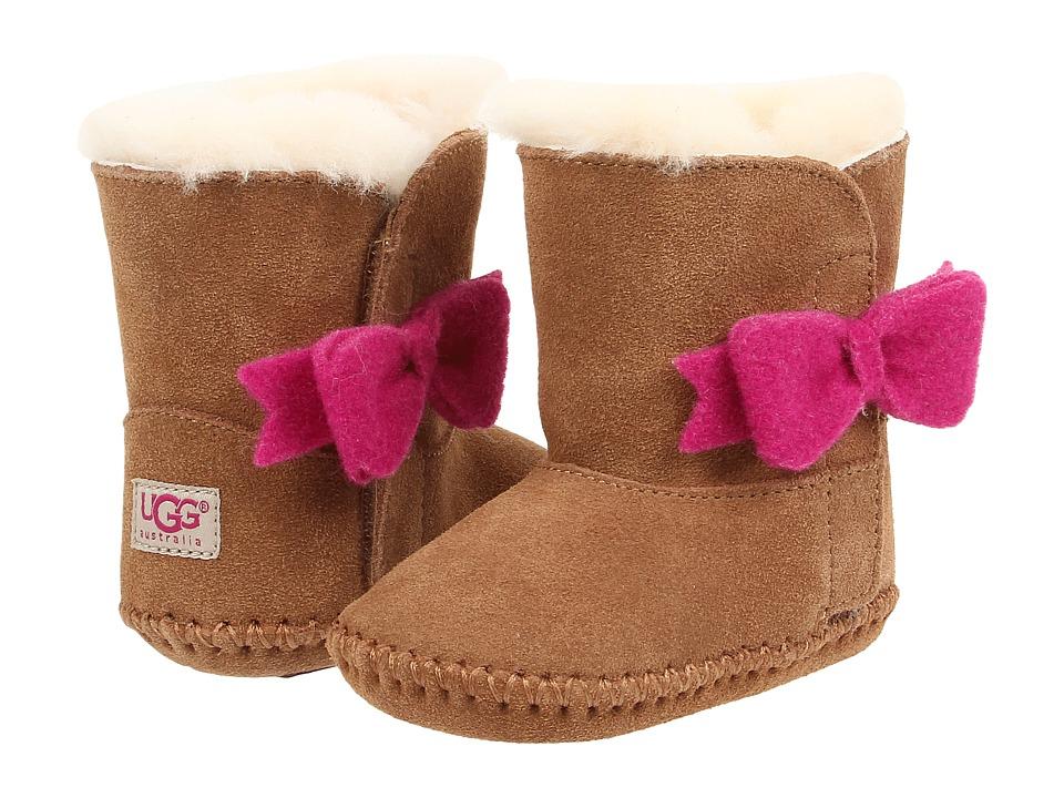 UGG Kids - Cassie Bow (Infant/Toddler) (Chestnut) Girls Shoes